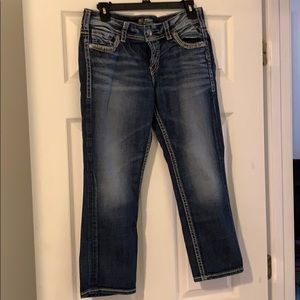 Silver Jeans cropped